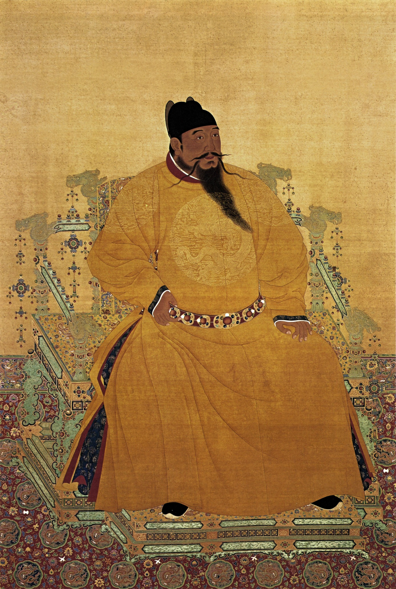 El emperador Zhu Di
